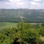 Utsikt fra Motovun, Istria