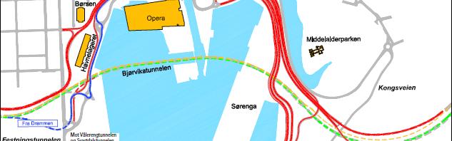 Tidenes bilkøer i Oslo kommende lørdag (varsel)