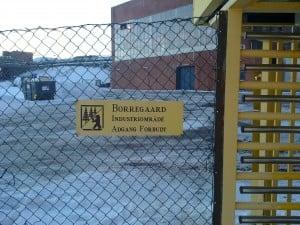 Borregaard fabrikker - A-porten