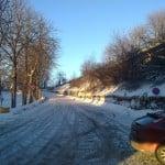 Fra St. Mariegt - opp mot Sarpsborg sentrum