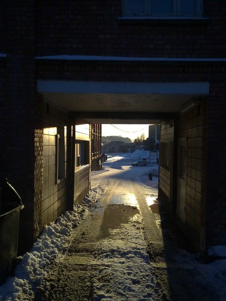 Borregaards gamle administrasjonsbygning - porten