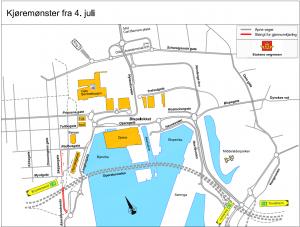 Bjørvika juli 2012 - kart