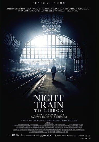Night Train to Lisbon 2013 Poster