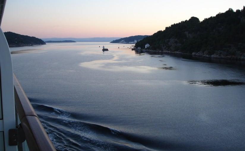 Sunrise Oslo Fjord, Oslo, Norway